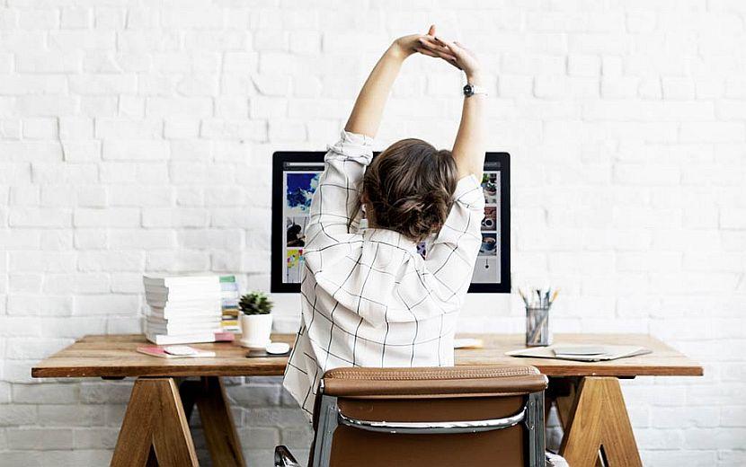 cours de yoga au travail