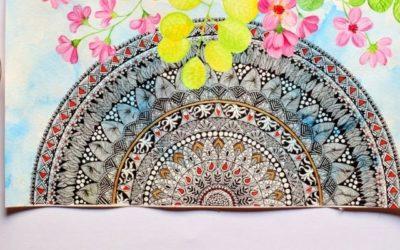 5bienfaits du coloriage mandala pour le corps et l'esprit 🎨